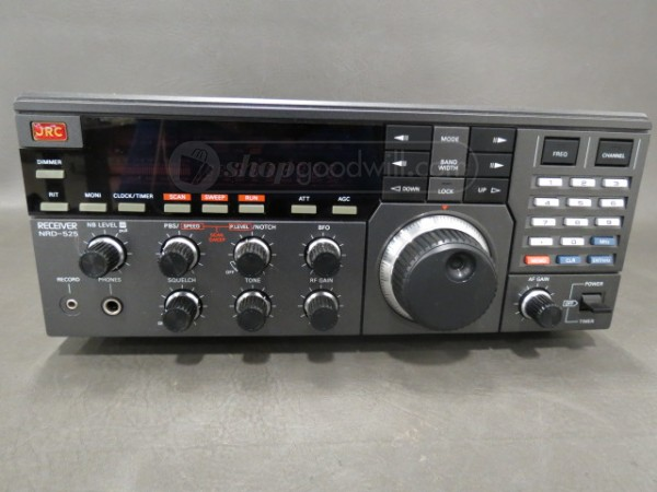 ShopGoodwill finds: Icom IC-R75 and JRC NRD-525 | The SWLing