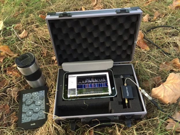 Portable Spectrum Capture Set-up