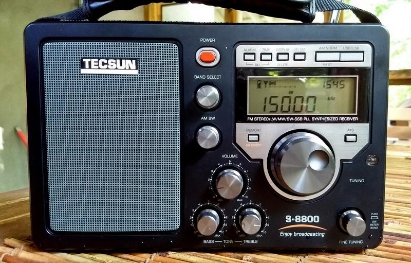 TECSUN PL-880 Radio Receiver Original Back Flip Stand black