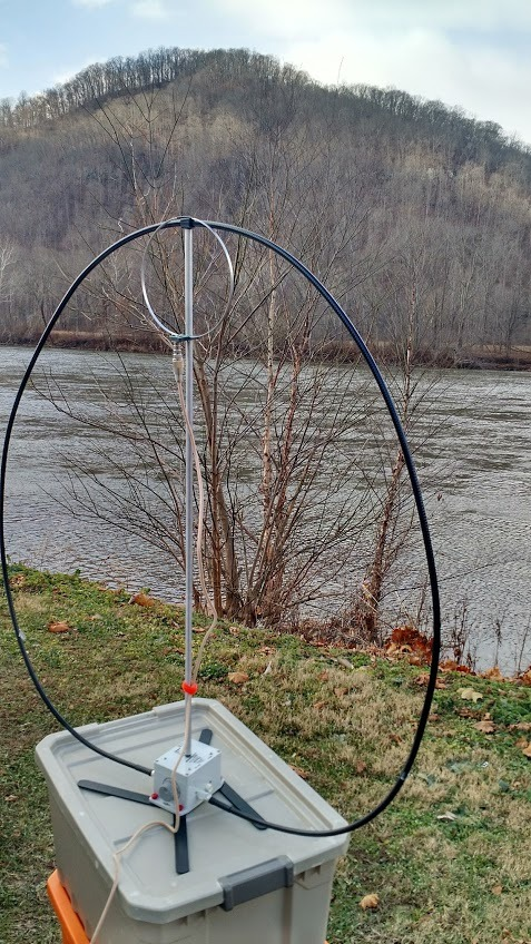 A review of the W4OP portable magnetic loop antenna | The