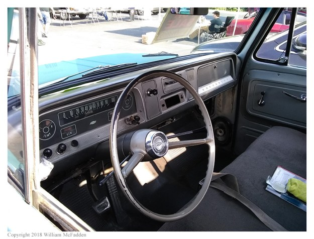 1966 Chevrolet pickup-truck (it was for sale)
