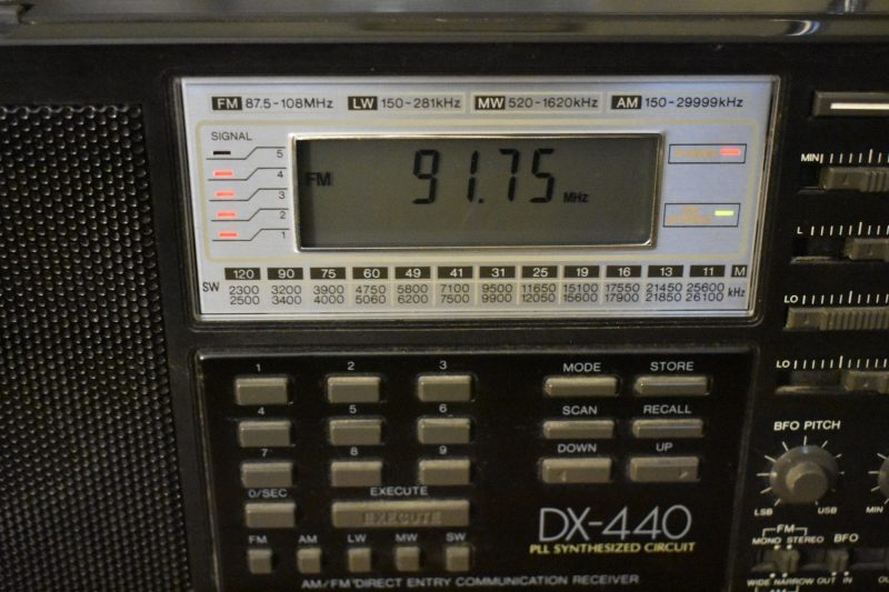 Radio Shack DX-440 | The SWLing Post