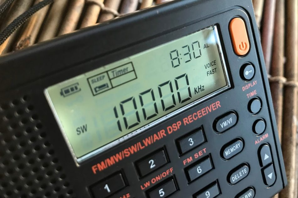 HF military communication exercise announcements on WWV/WWVH