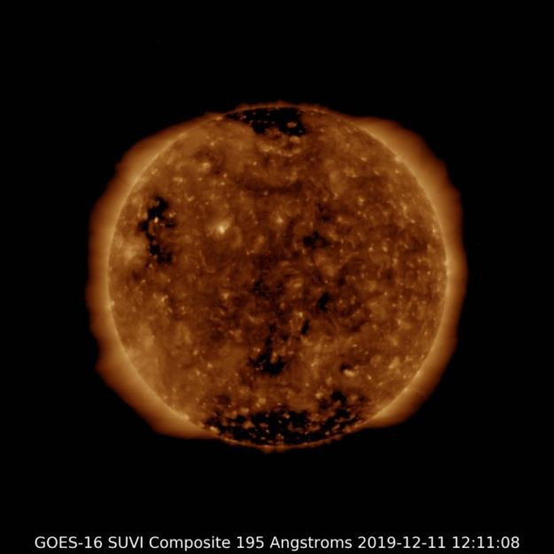 Sun NOAA GOES SUVI