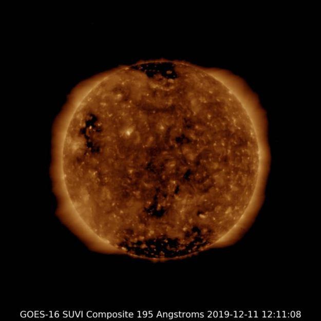 Sun NOAA GOES SUVI