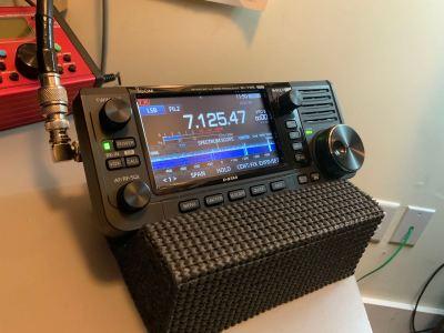 Icom IC-705 Transceiver Unboxing - 20