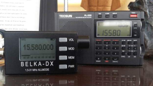 Belka-DX and Tecsun PL-330