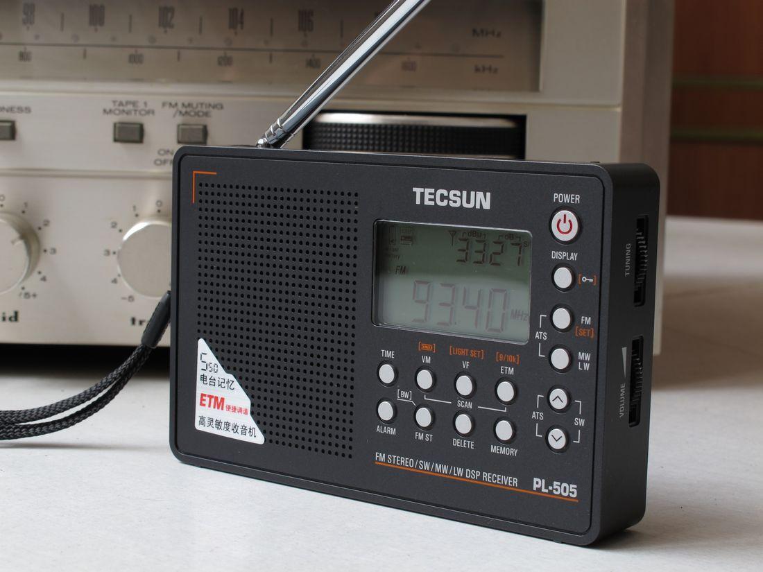 Tecsun Pl 505 Shortwave Radio Index