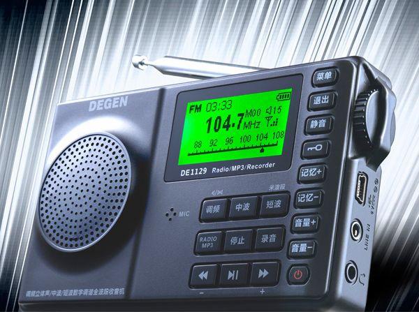 Degen DE1129  Shortwave Radio Index