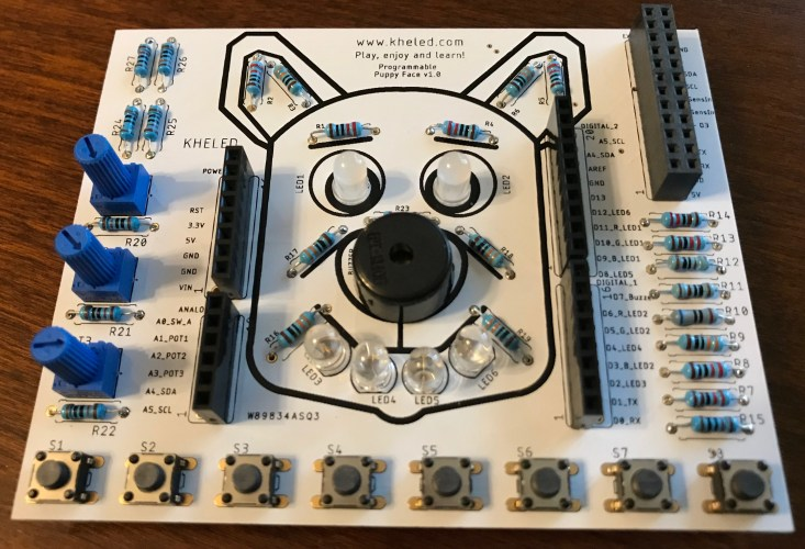 Electrical Boards for Kids and Adults to learn programming and quick prototyping
