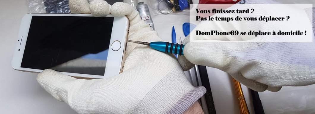 DomPhone69 réparation smartphone à domicile