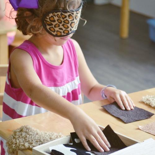Sensory Work Preschool