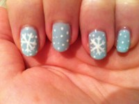 Nail Art: Snowflakes