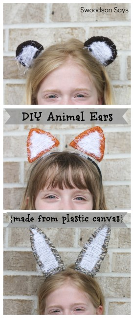 DIY Animal Ear Headband - Swoodson Says
