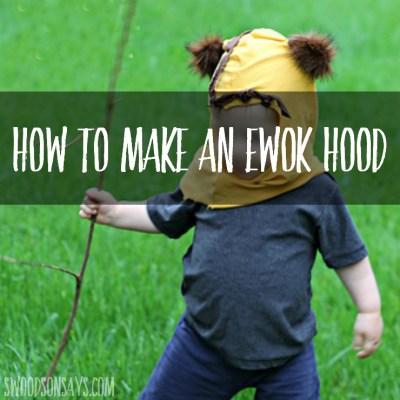 DIY Ewok Hood Tutorial