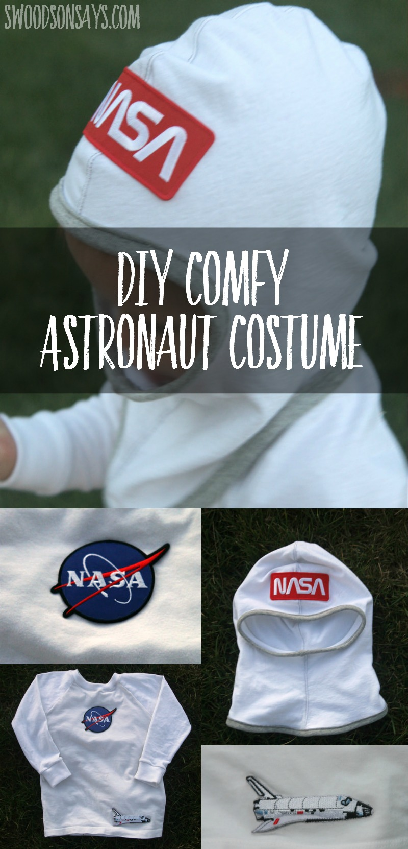 Diy Toddler Astronaut Costume Sewing Tutorial Swoodson Says