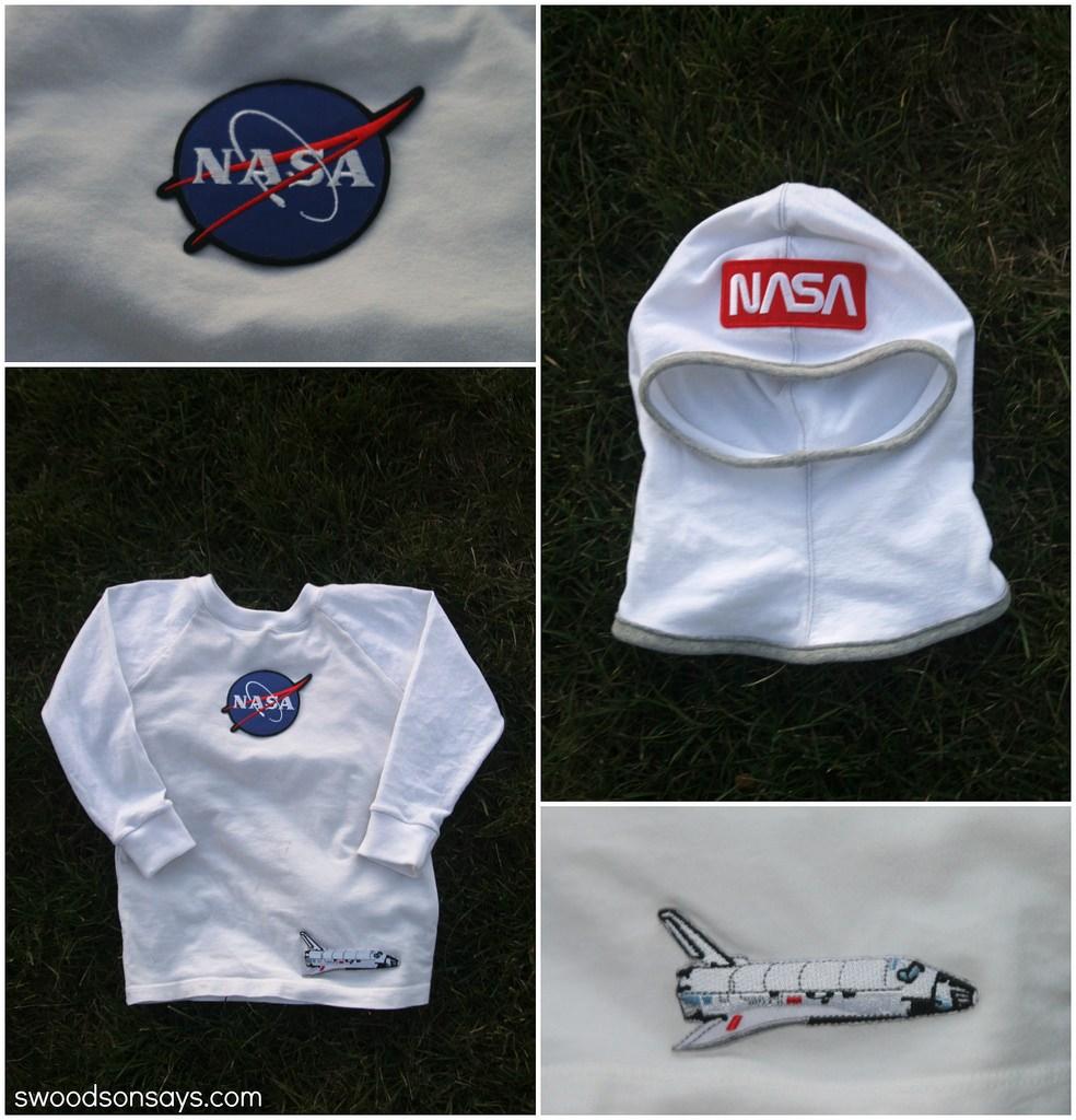 easy astronaut costume