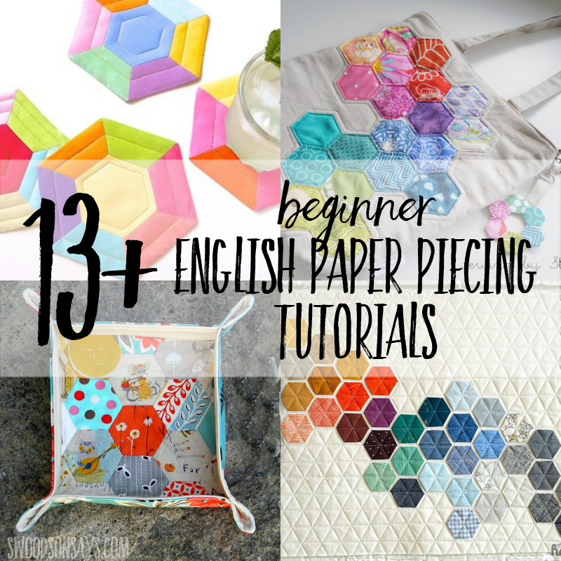 english paper piecing small projects