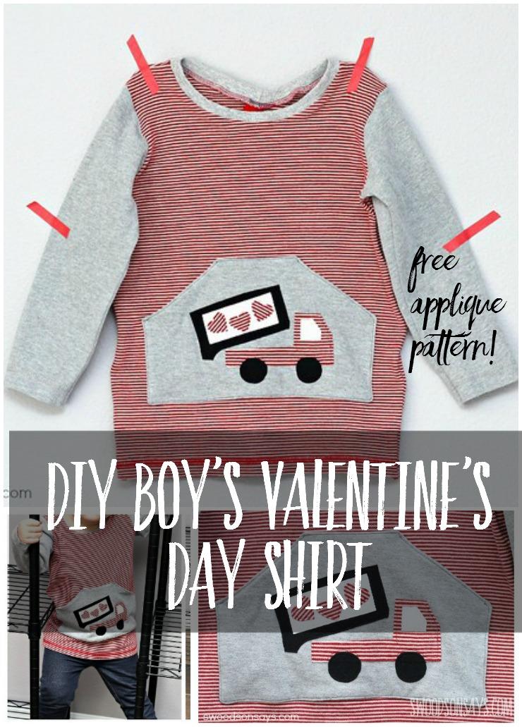 Diy Boy S Valentine S Day Shirt Tinley Tee By Gyct Designs