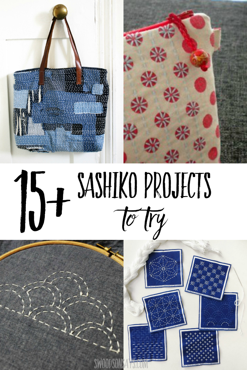 how to sashiko embroidery