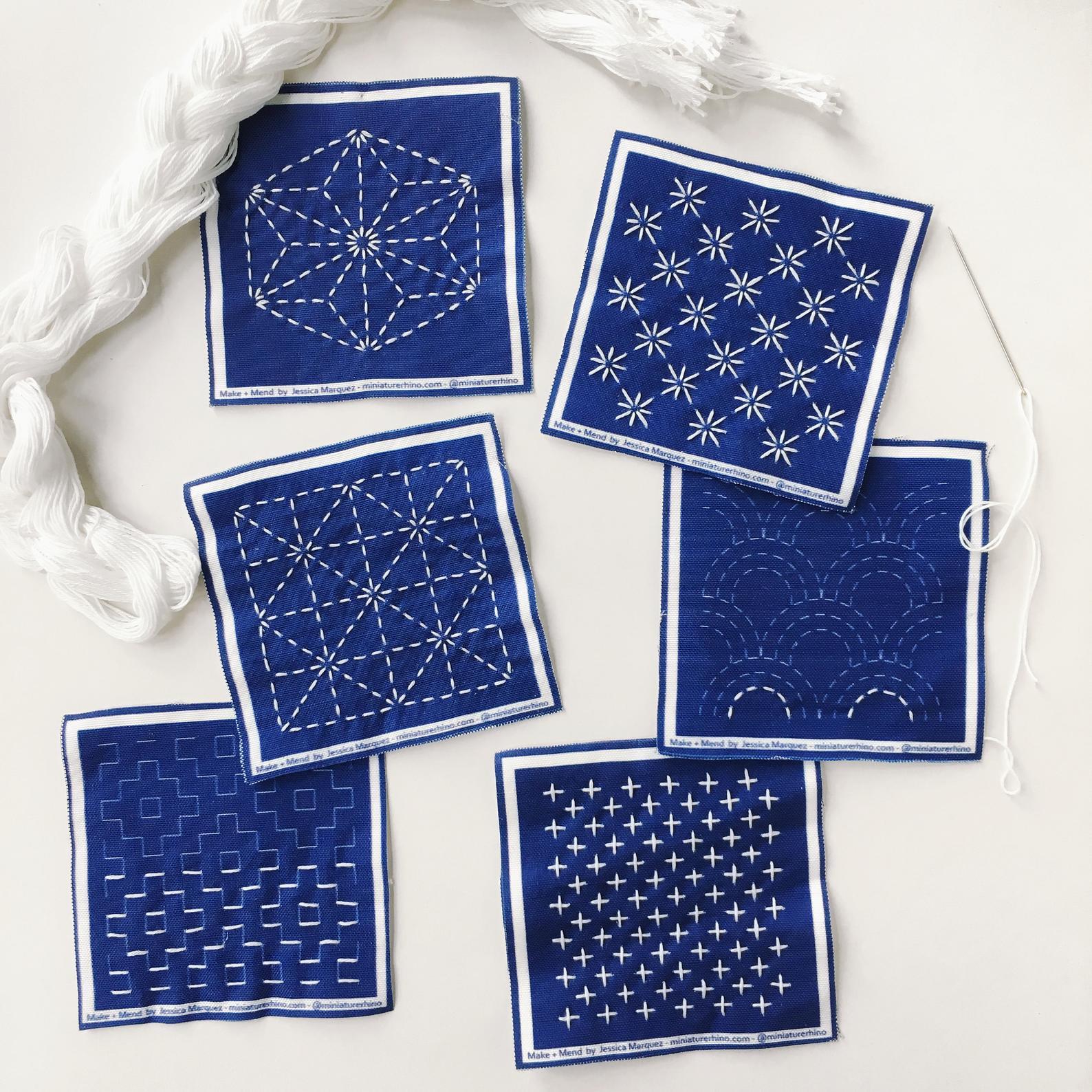 sashiko sampler kit