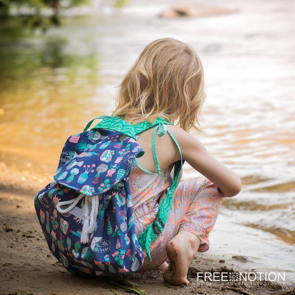 Little Collector Backpack PDF Sewing Pattern