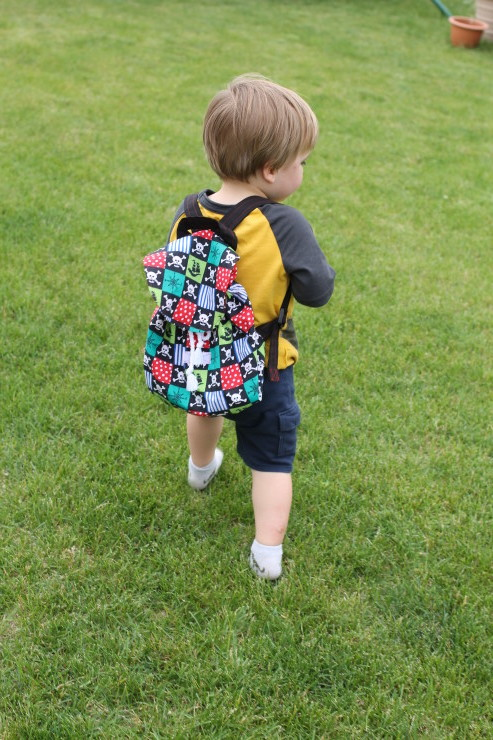 Little Collector Backpack - a Swoodson Says sewing pattern