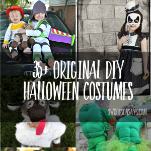 Halloween costume sewing patterns for kids