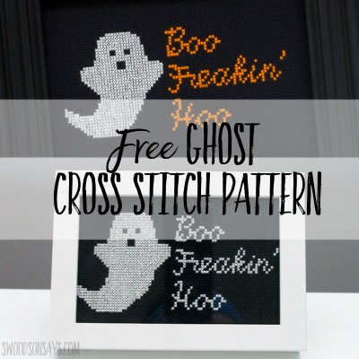 halloween crossstitch design