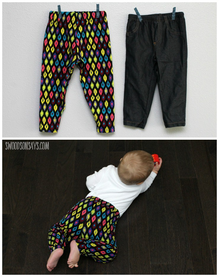 4 Free Baby Pants Sewing Patterns Tested