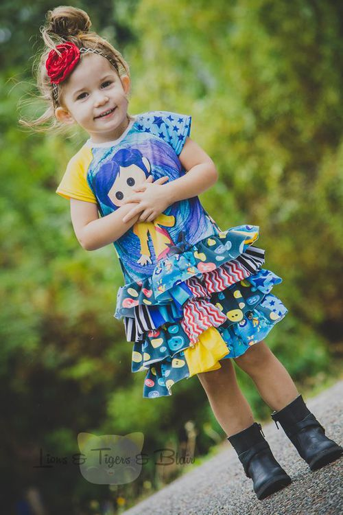 scrappy knit skirt sewing pattern girls