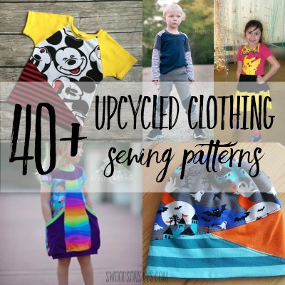 upcycled clothing patterns to sew