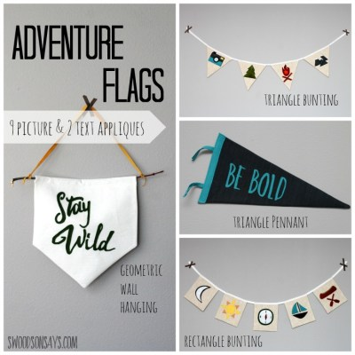 Adventure Flags – Swoodson Says Pattern Release