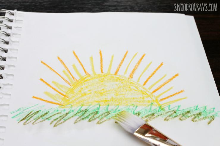 sunshine pastel