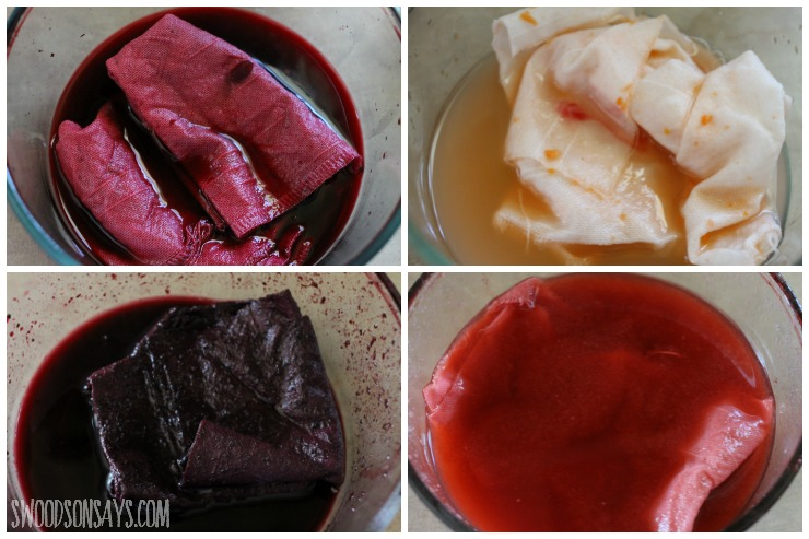 natural dyes in process