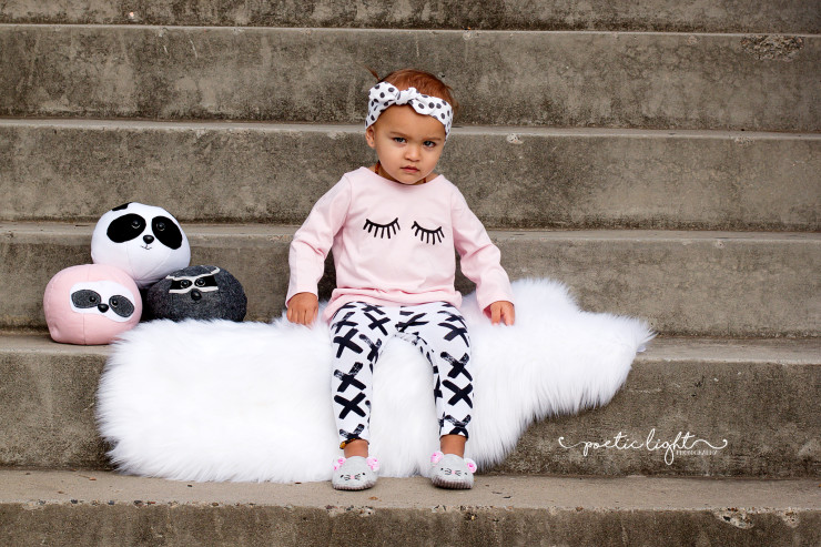 roly poly critters panda softie ball