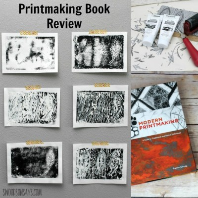 A book review of Modern Printmaking by Sylvie Covey. This book covers a ton of different techniques and gives fabulous artist profiles. It is sure to inspire anyone interested in printmaking - check out my review for more information and pictures!