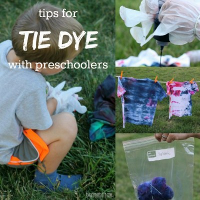 Easy Tie Dye With Kids