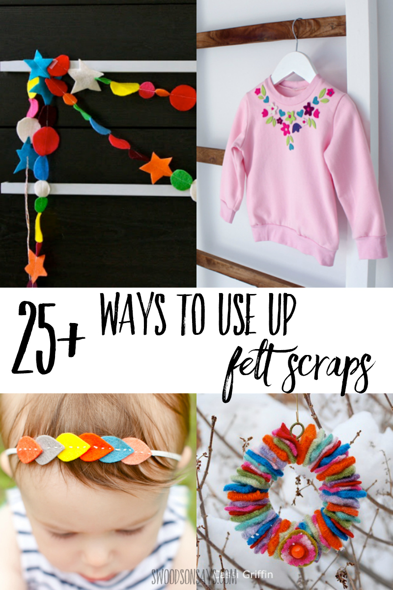 things to make with felt scraps