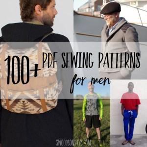 100+ Men's sewing patterns