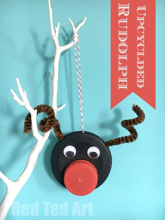 rudolph-ornament-bottle-caps