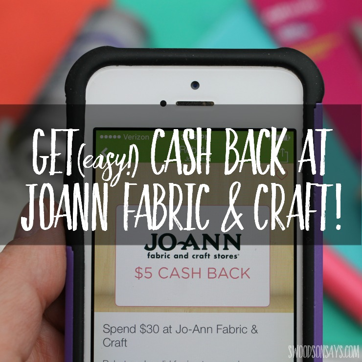 Looking to save some money while shopping for fabric and craft supplies? Use Ibotta and get easy cash back on your purchase- just scan your receipt! This post shows you how it Ibotta works, start saving now!