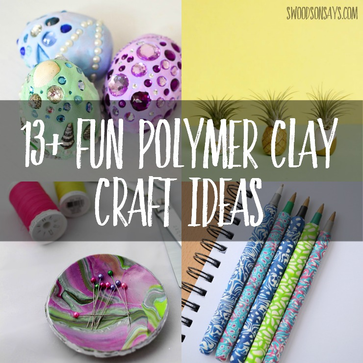 13 Fun Clay Craft Ideas To Make Swoodson Says