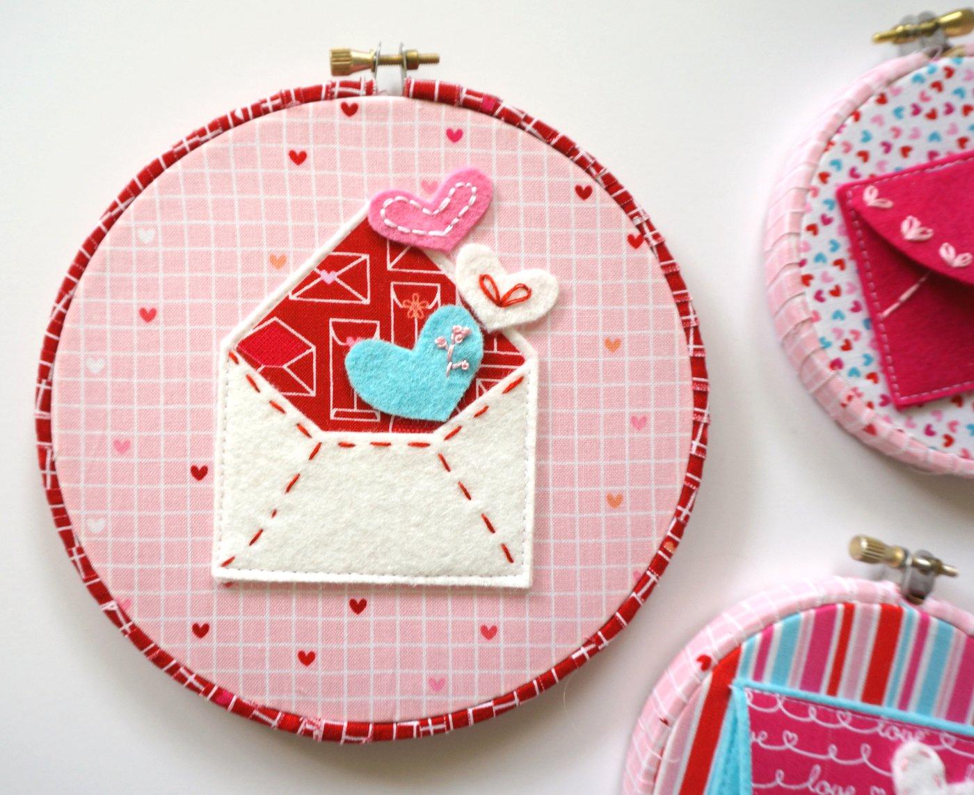 felt envelope hoop free pattern