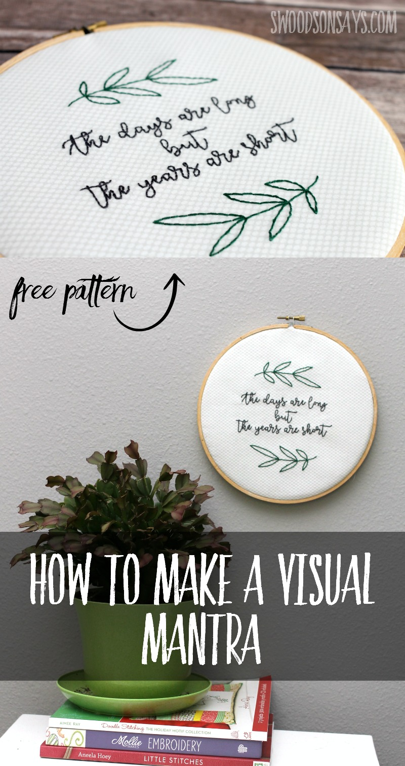 FInd out how to reset your day with Snapple and a creative embroidery break, with this free pattern and tutorial. A sponsored post - #snapplerollback #ad #cbias