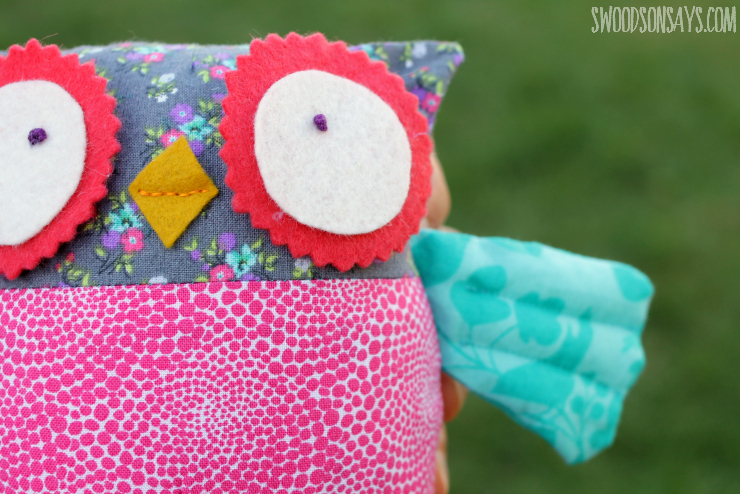 Super Cute Stuffed Owl Pattern Swoodson Says