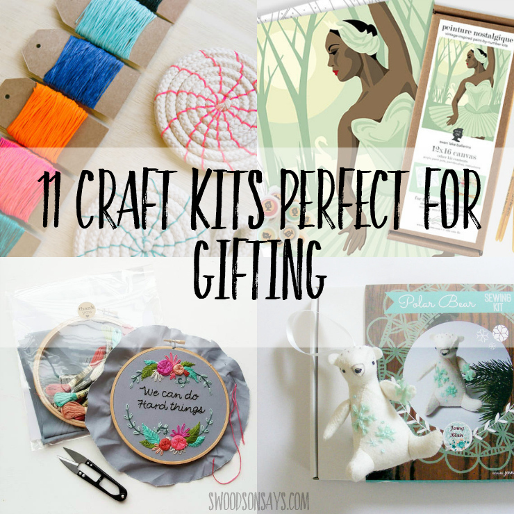adult craft kits collage