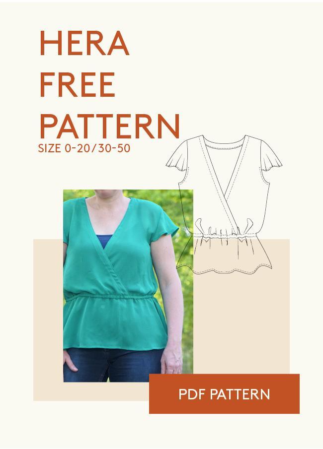 free pdf sewing patterns to download