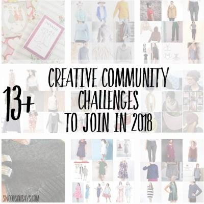 2018 Creative Community Challenges
