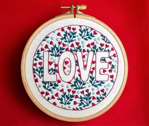 15 Valentine S Day Hand Embroidery Patterns Swoodson Says